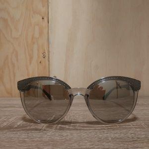 Versace Silver Sunglasses